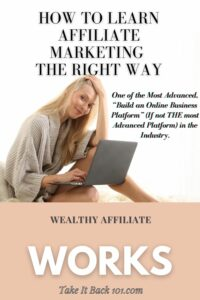 Wealthy Affiliate Does It Work-Pinterest Pin Pin