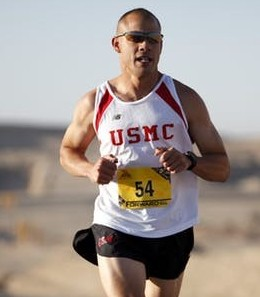 Ageism over 50-A picture of a Baby boomer running a marathon race
