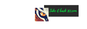 My Brand logo for my website Take it Back 101.com