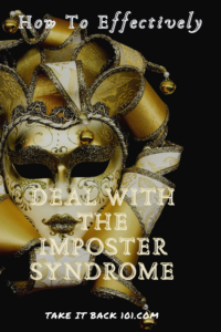 Dealing With The Imposter Syndrome - Pinterest Pin