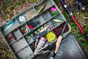 Does Global Affiliate Zone Work-Image 3 on Post of a Full Tackle Box of Fishing Gear