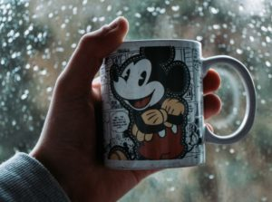 Benefits Of A Gig Economy a image of a Mickey Mouse Cup and second image of post