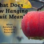 What Does Low Hanging Fruit Mean