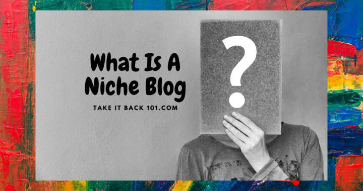 What is a Niche Blog - Featured image with brand
