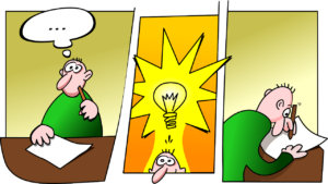 What Is A Niche Blog- image 2 on blog a cartoon on getting a idea for a niche