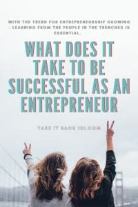 What does it take to be successful as an entrepreneur_Image of a Pin for Social