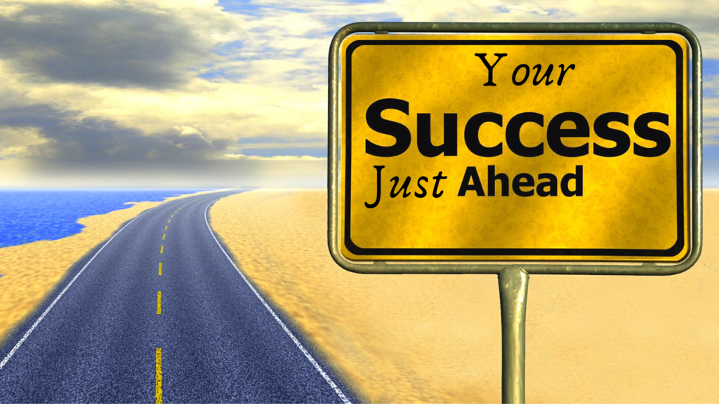 What does it take to be successful as an entrepreneur-Image 5 of traffic sign