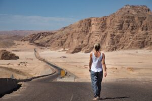 What does it take to be successful as an entrepreneur_Image 2 Women walking alone in the dessert